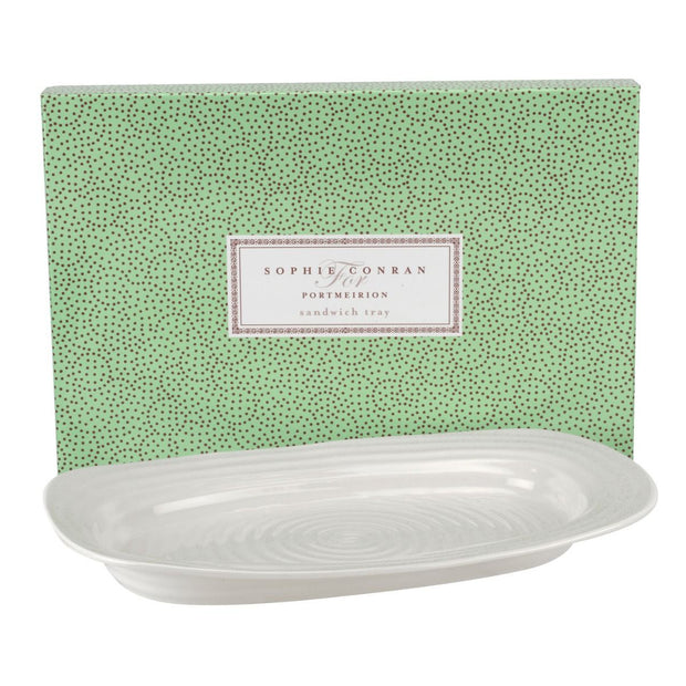 Sophie Conran for Portmeirion Sandwich Tray White