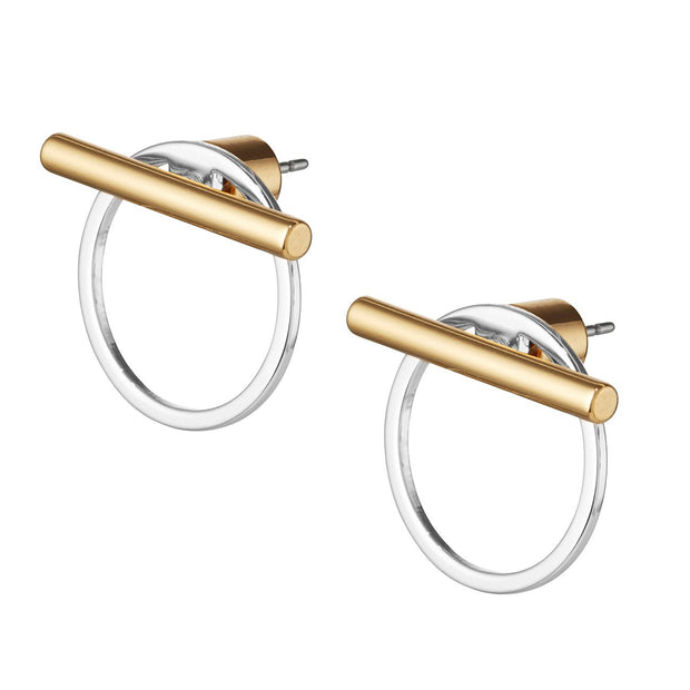 JENNY BIRD - Rhye Jackets Earrings in Two Tone