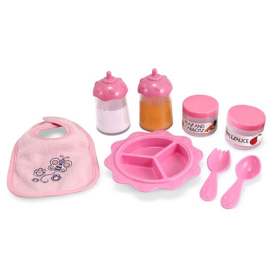 Melissa and Doug Mine to Love Baby Food and Bottle Set