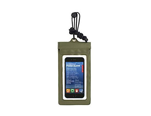 Kikkerland - Waterproof Phone Case Green