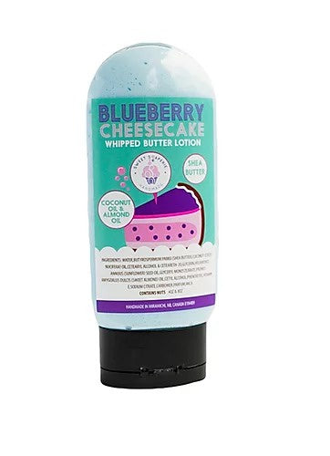 Sweet Soaperie - Whipped Butter Lotion 4oz Blueberry Cheesecake