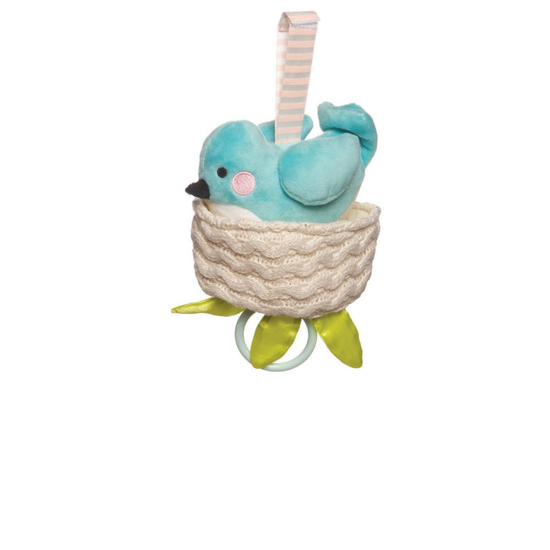 The Manhattan Toy Company Pull Toy Lullaby Bird