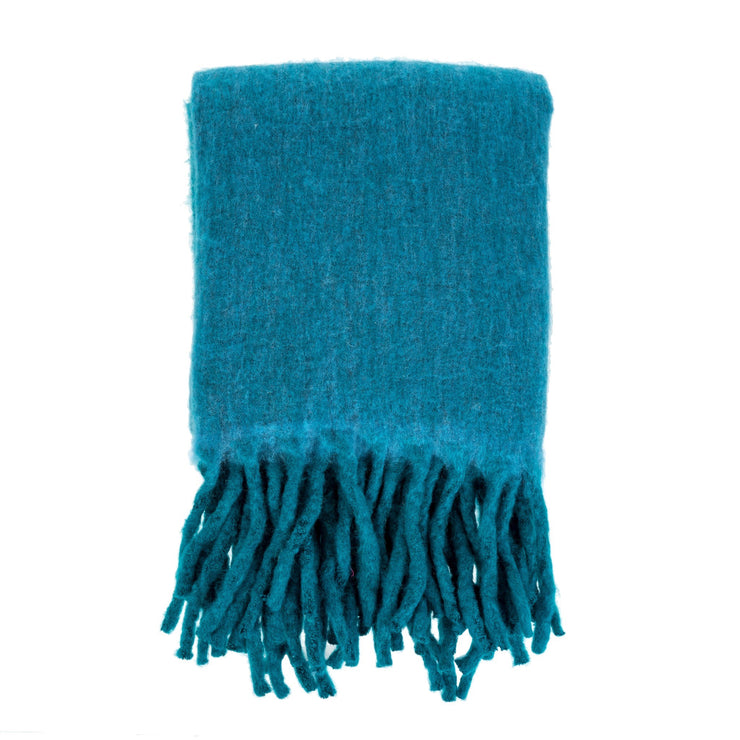 Indaba - Fireside Cozy Throw Storm Blue
