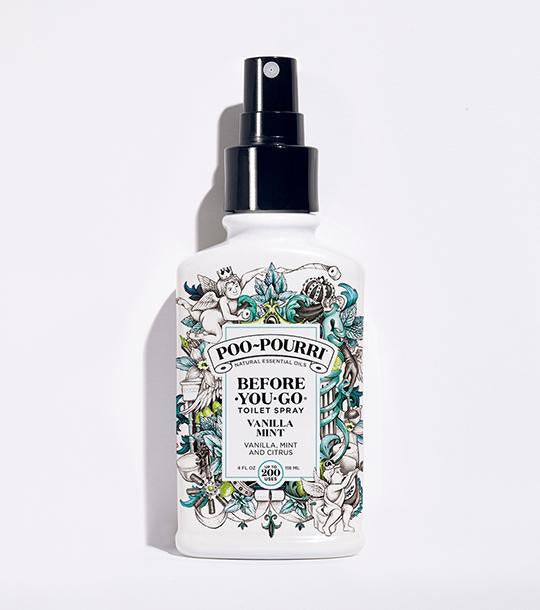 Poo-Pourri 4oz Vanilla Mint