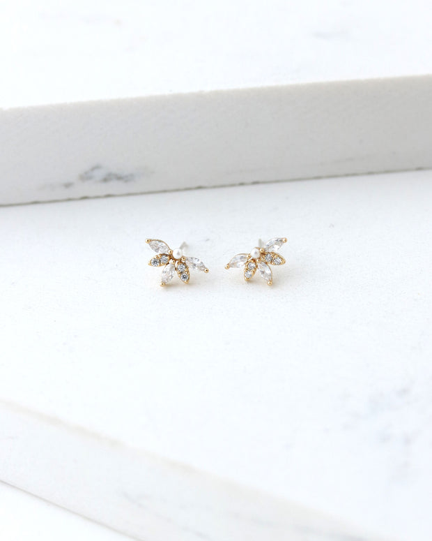 Lover's Tempo - Harlowe Stud Earrings Gold