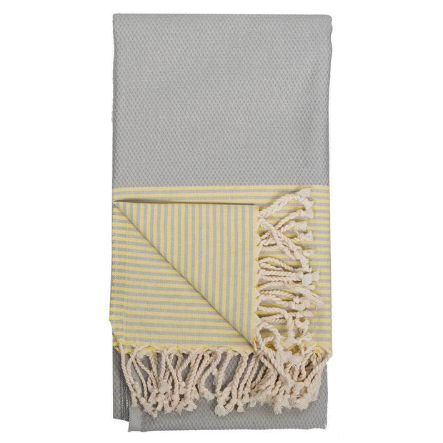 Pokoloko - Body Towel - Patek Grey /Yellow
