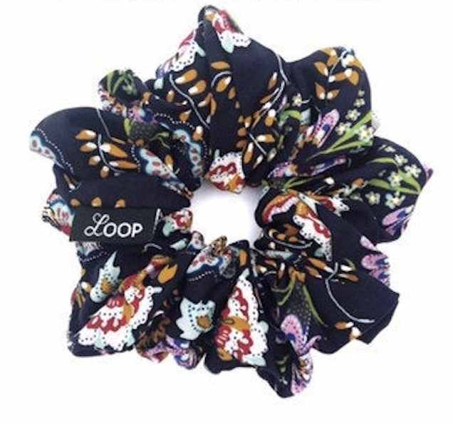 LOOP Scrunchie Classic Fall Floral