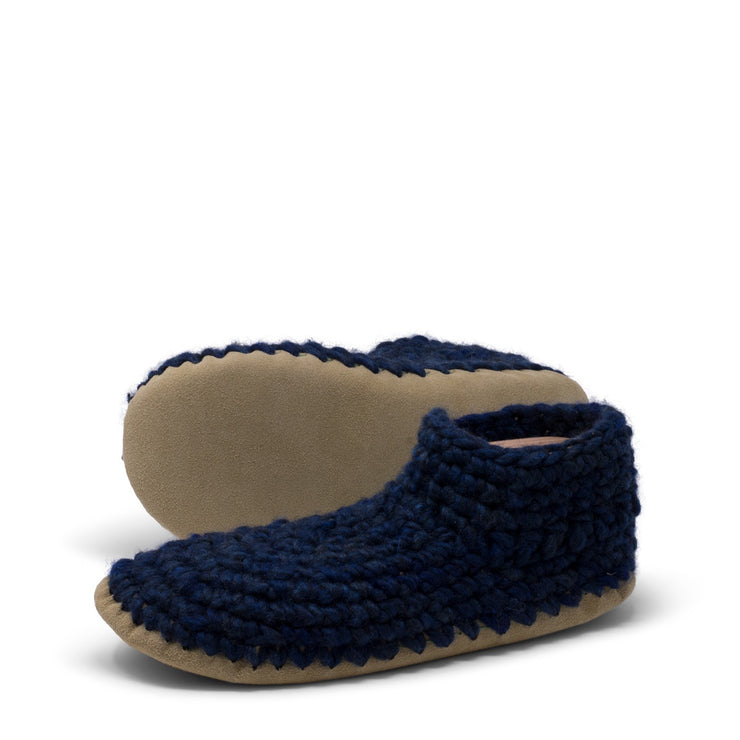 Padraig Cottage - Men's Medium Denim Slipper