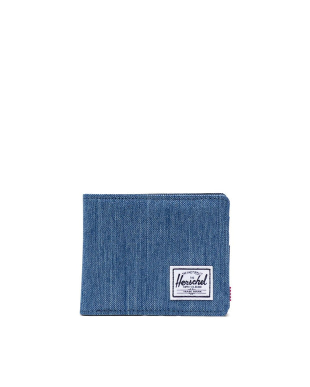 Herschel Supply - Roy Wallet Faded Denim and Indigo Denim