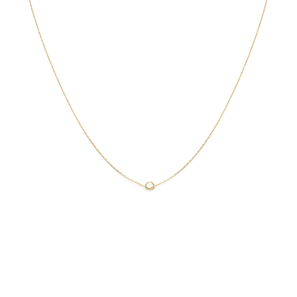 Leah Alexandra - Necklace Love Knot Gold