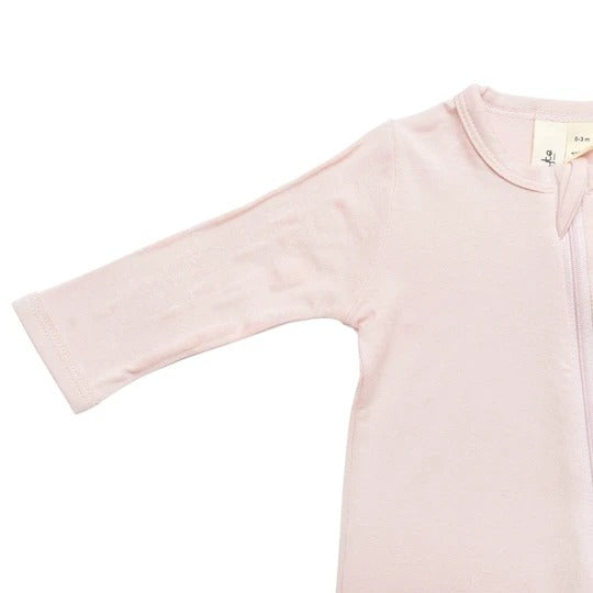 Kyte Baby - Zippered Footie Blush