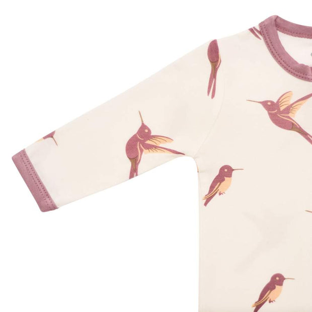 Kyte Baby - Zippered Footie Hummingbird