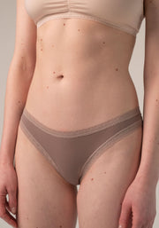 Blush Thong Taupe