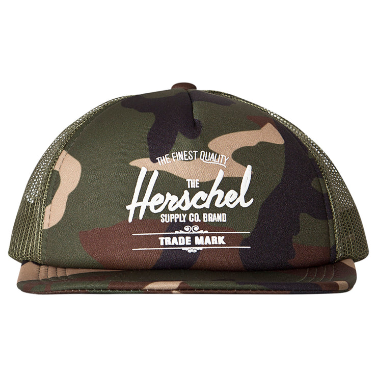 Herschel Supply - Whaler Cap Soft Brim Youth Camo