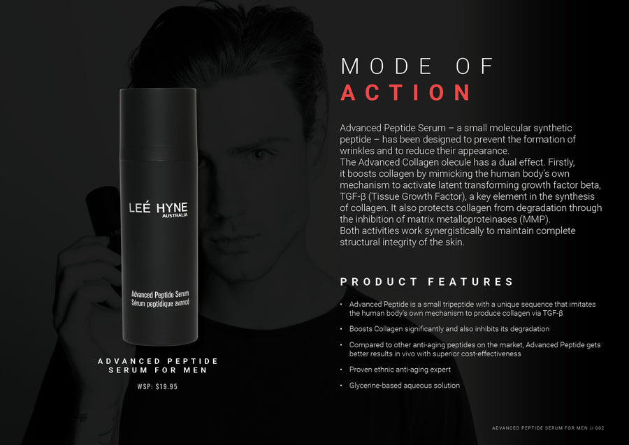 Advanced Peptide Serum for Men