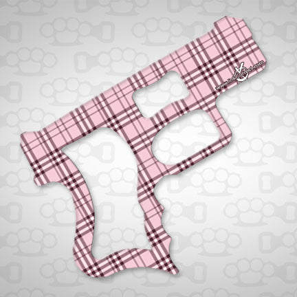 Plaid Lite Pink