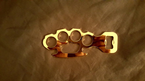 HD 24kt Gold plated Knuckle Opener