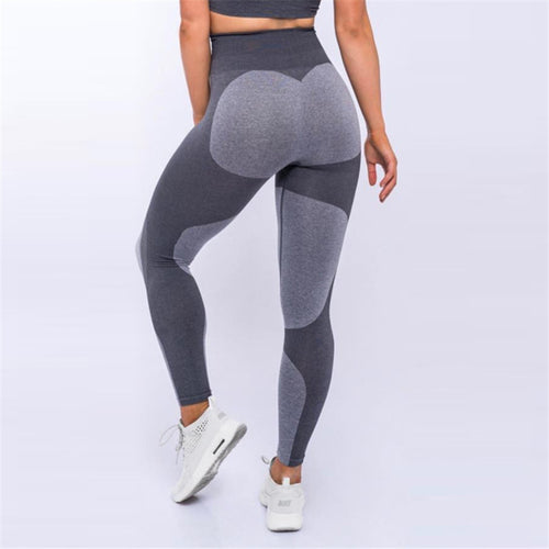 2018 New Fashion Heart Pattern Splice Leggings Harajuku Athleisure Fitness Clothing Elastic Sporting Leggings Women Pants