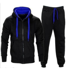 Load image into Gallery viewer, vertvie 2018 Spring Men Sportswear Men's Clothing Suit Male Clothing Set Hoodie+Pant Running Set Mens Tracksuit Athleisure Suits