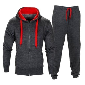 vertvie 2018 Spring Men Sportswear Men's Clothing Suit Male Clothing Set Hoodie+Pant Running Set Mens Tracksuit Athleisure Suits