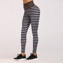 Load image into Gallery viewer, High Quality Women Fashion 2018 Rainbow Striped Fitness Apparel Women Workout Leggings Jeggings Athleisure Fitness clothing Hips