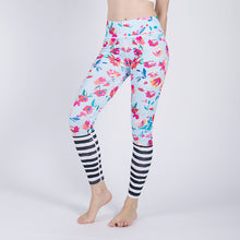 Load image into Gallery viewer, Women's Fashion Floral Print Slim Leggings Athleisure Sportswear Women Pants Push Up Workout Girls Sexy Fitness Leggings