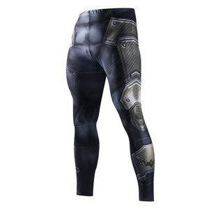 3D Print Fitness Men Running Tights Bodybuilding Crossfit Sports Leggings sport Athleisure Sportswear Plus Sizes Elastic Pants