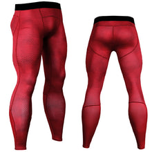 Load image into Gallery viewer, Fitness Men Running Tights Print Bodybuilding Crossfit Sports Jogging Leggings Athleisure Sportswear Plus Sizes Elastic Pants