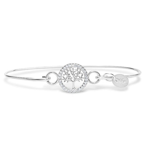 Pavé Icon Tree of Life Bracelet