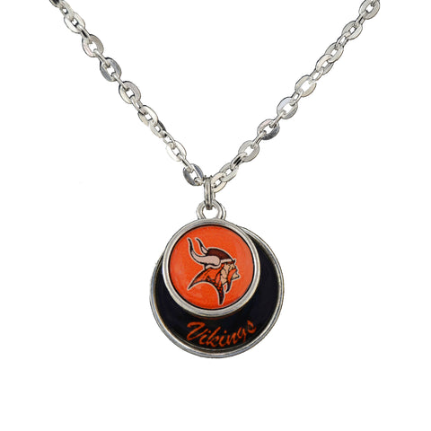 PV Vikings Stacked Disk Necklace