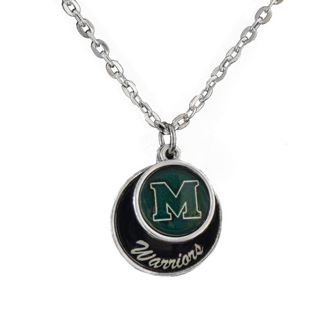 Methacton Warriors Stacked Disk Necklace