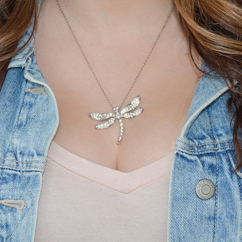 Fashion Dragonfly Necklace