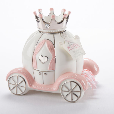 """Little Princess"" Carriage Porcelain Bank"