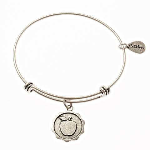 Apple Bangle Charm Bracelet