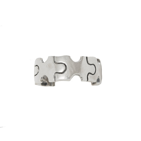 Sterling Silver Autism Puzzle Piece Ring