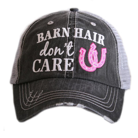 Barn Hair Don't Care Trucker Hat