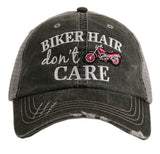 Biker Hair Don't Care Trucker Hat