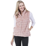 Faux Rabbit Vest
