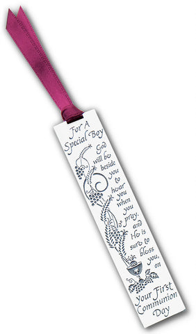 First Communion Boy Bookmark