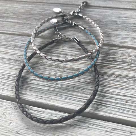 Bolo Leather Anklet