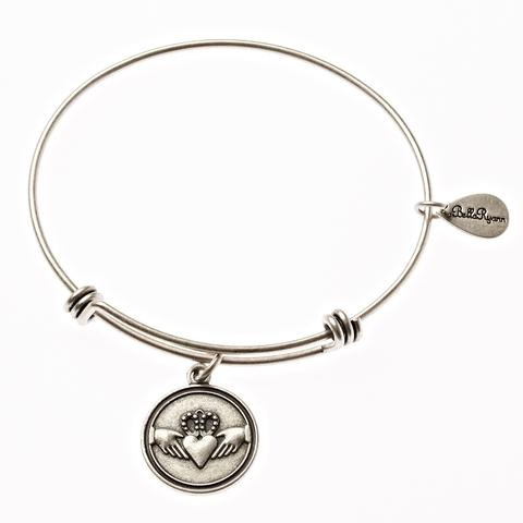 Claddagh Bangle Charm Bracelet
