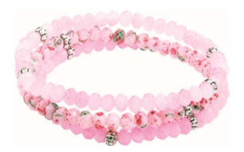 Kids Mini Crystal Bracelet - Cotton Candy