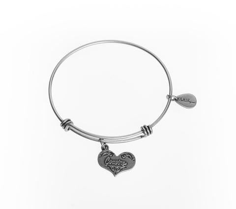 Cousins Bangle Charm Bracelet