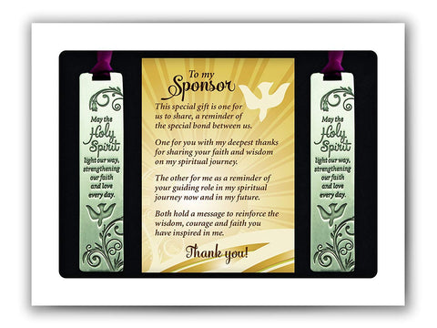 Sponsor Bookmark Gift Set
