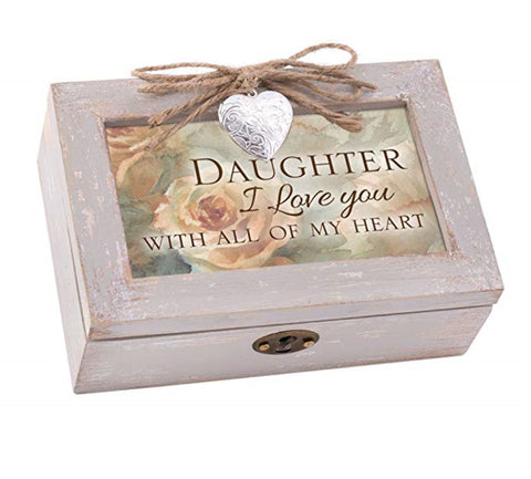 Daughter Love With All My Heart Music Box
