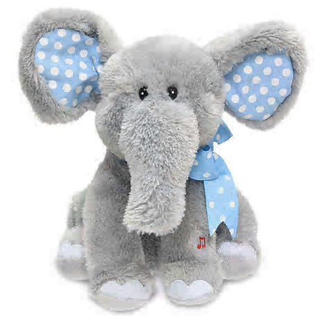 "Elliot 12"" Elephant Animated Stuffed Animal"