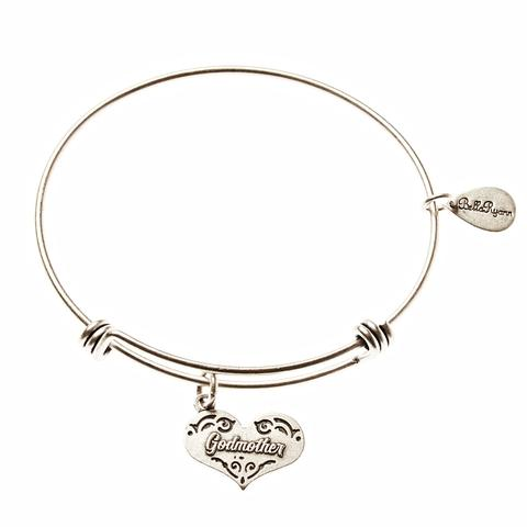 Godmother Bangle Charm Bracelet