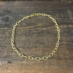 "Sterling Silver Gold Plated 10"" Anklet"