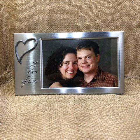 """25 Years of Love"" Frame"