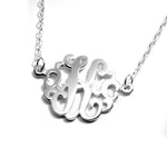 Single Monogram Necklace - 20mm